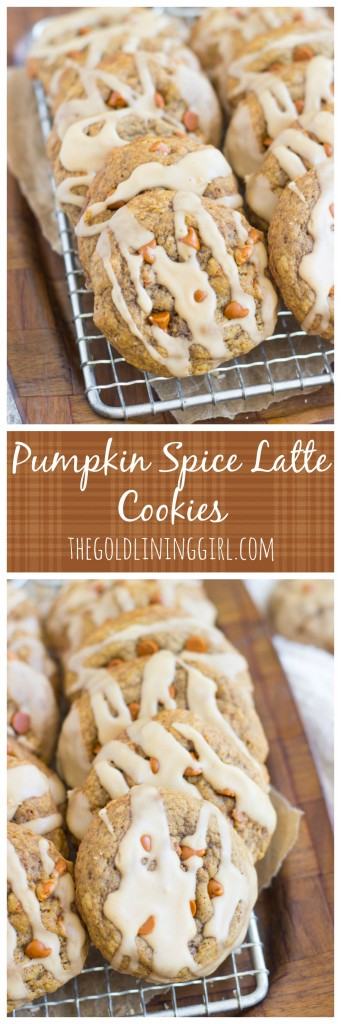 Pumpkin Spice Latte Cookies pin