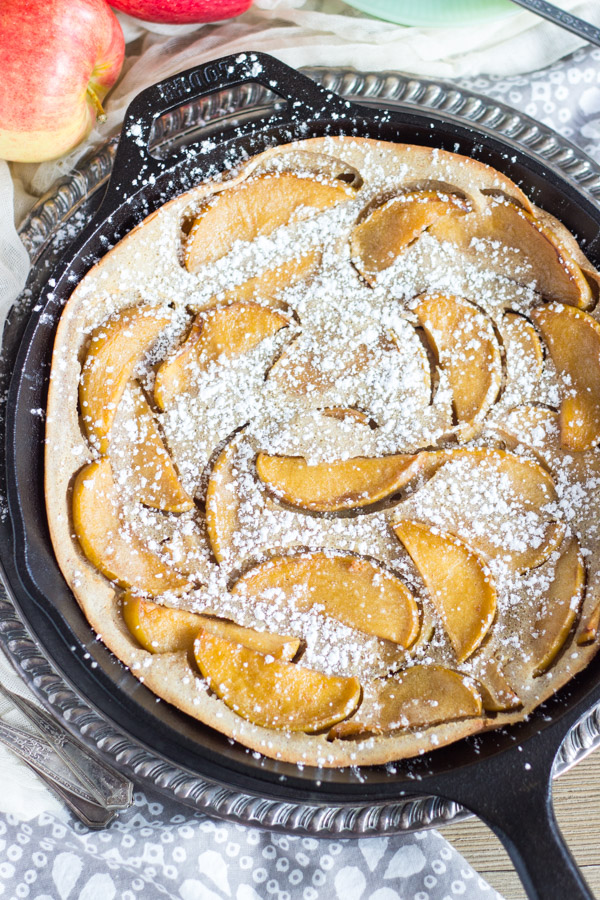 Salted Caramel Apple Dutch Baby with Apple Cider Syrup (3)