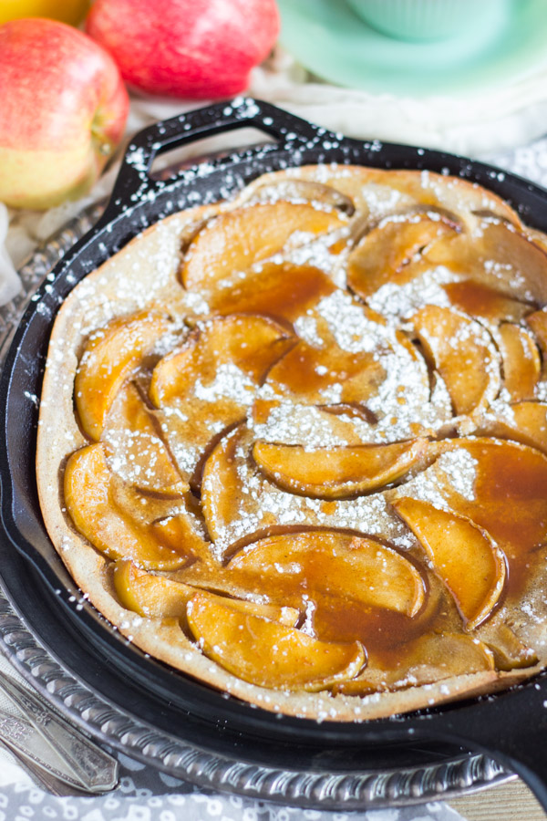 Salted Caramel Apple Dutch Baby with Apple Cider Syrup (5)