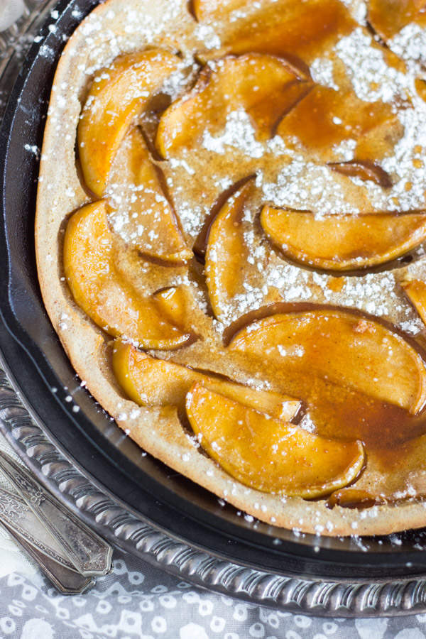 Salted Caramel Apple Dutch Baby with Apple Cider Syrup (7)