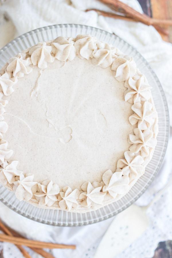 Snickerdoodle Poke Cake Layer Cake (3)
