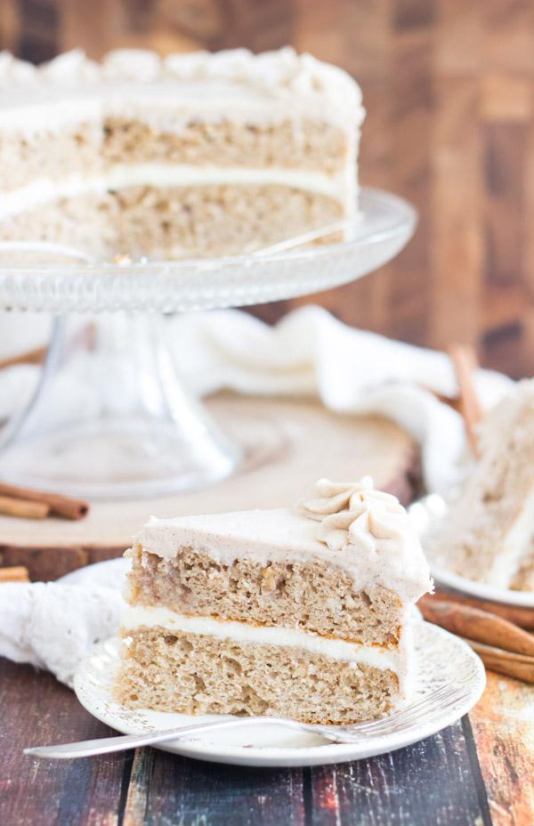 Snickerdoodle Poke Cake Layer Cake (6)