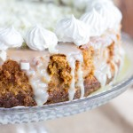 White Chocolate Pumpkin Cheesecake with Gingersnap Crust