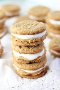 fluffernutter cookie sandwiches 11