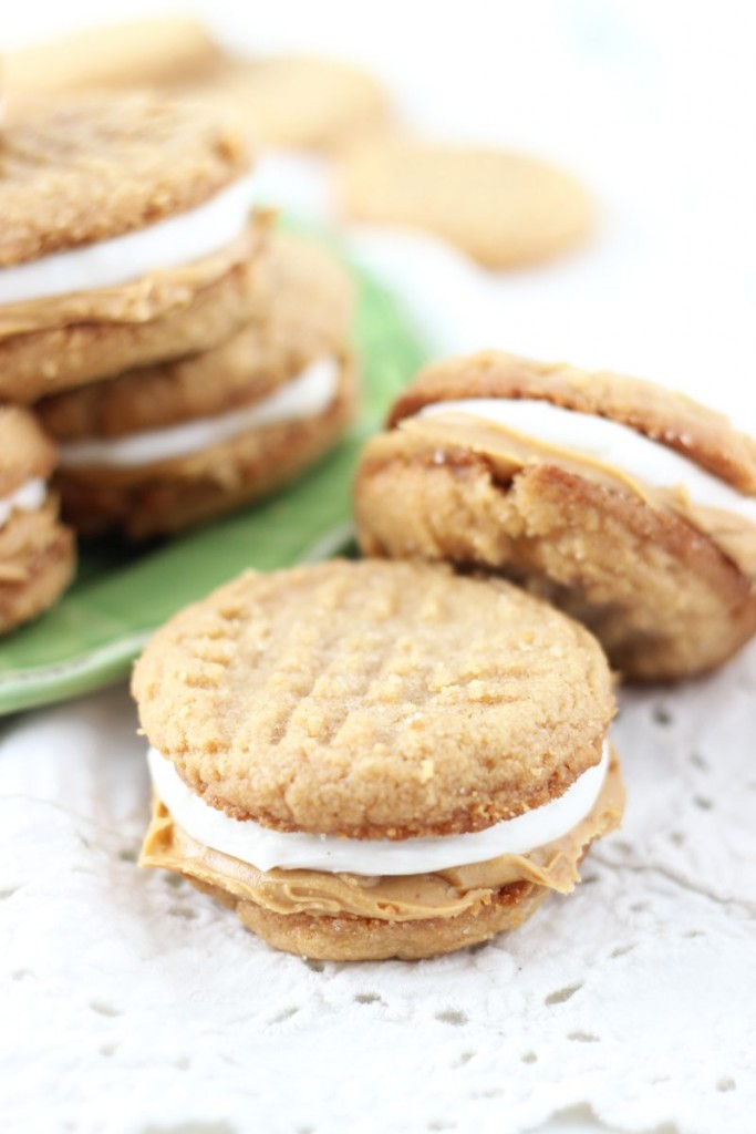 fluffernutter cookie sandwiches 2