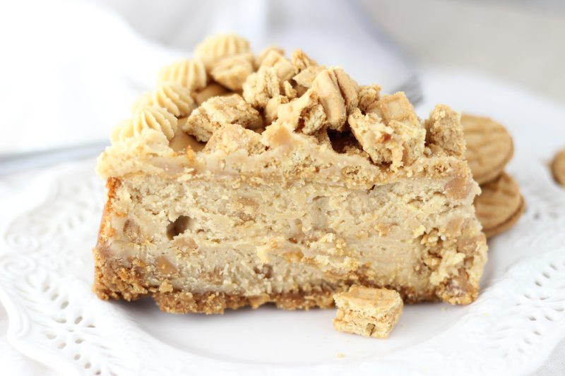 nutter butter peanut butter cheesecake 10