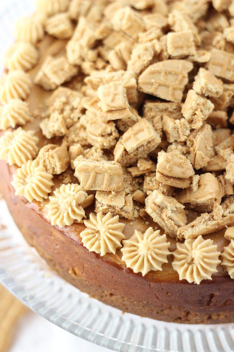 Nutter Butter Peanut Butter Cheesecake