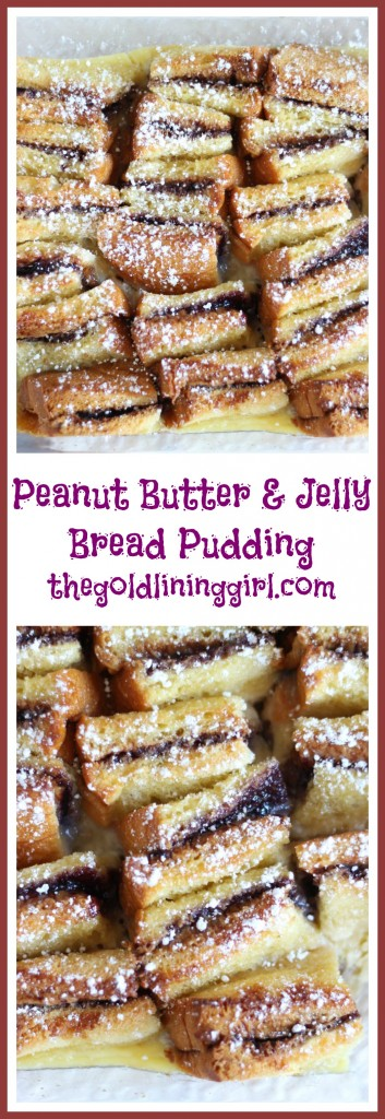 peanut butter & jelly bread pudding pin