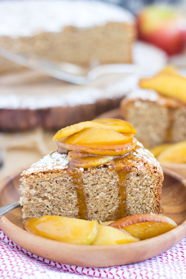Apple Spiced Olive Oil Cake with Caramelized Apples (11)
