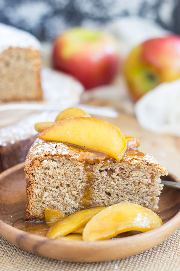 Apple Spiced Olive Oil Cake with Caramelized Apples (14)