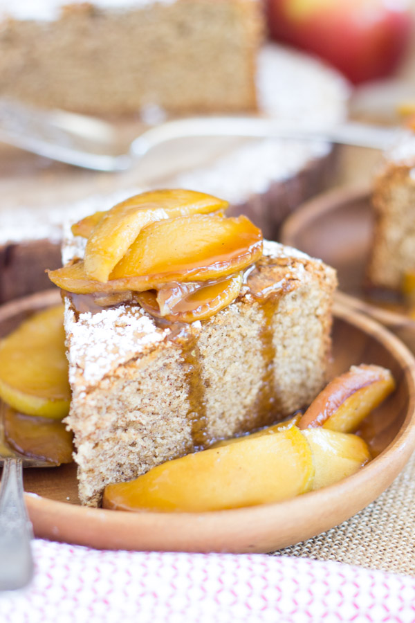 Apple Spiced Olive Oil Cake with Caramelized Apples (18)