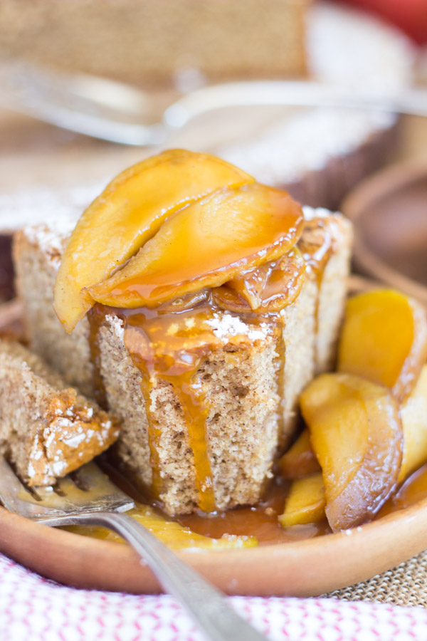 Apple Spiced Olive Oil Cake with Caramelized Apples (19)