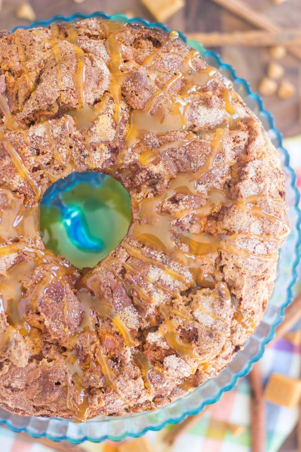 Butterscotch & Caramel Spice Cake Coffee Cake (8)