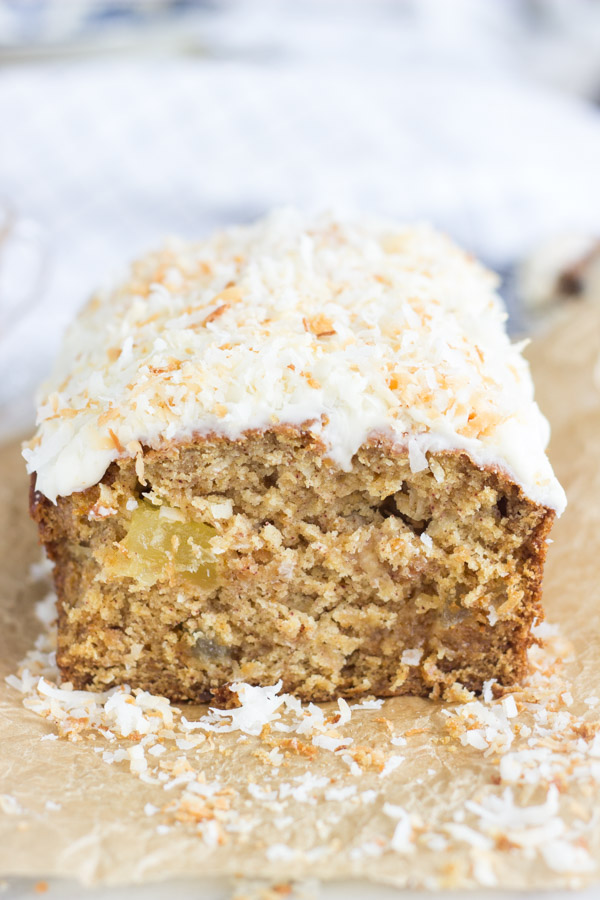 Coconut Pineapple Sweet Potato Bread with Rum Icing (21)