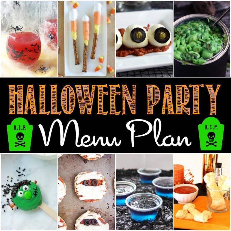 Halloween Party Menu Plan FEAT