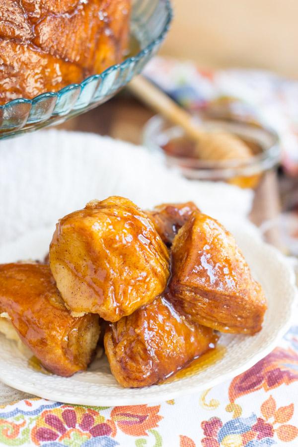 Honey Cinnamon Monkey Bread (10)