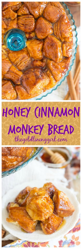Honey Cinnamon Monkey Bread pin