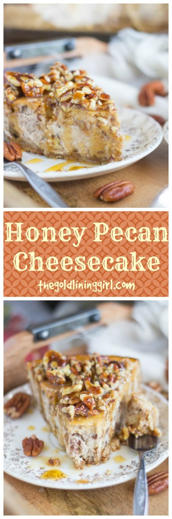 Honey Pecan Cheesecake pin