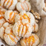Maple Walnut Spritz Cookies