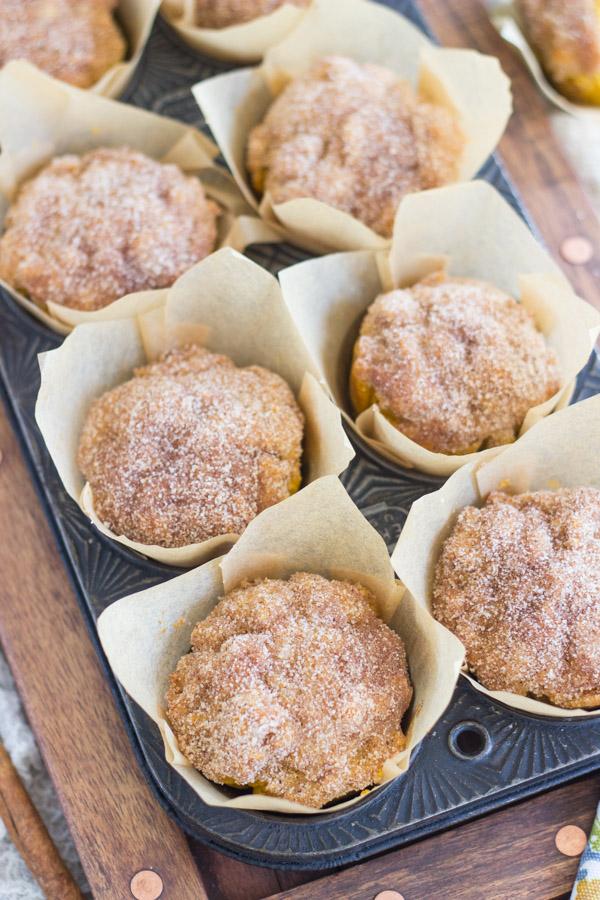 Pumpkin Donut Muffins (1)