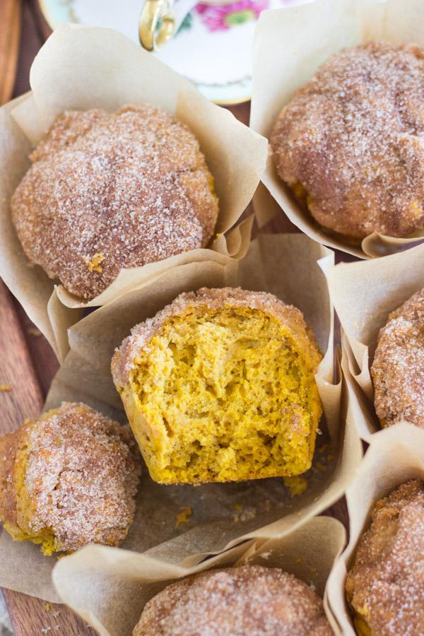 Pumpkin Donut Muffins (16)