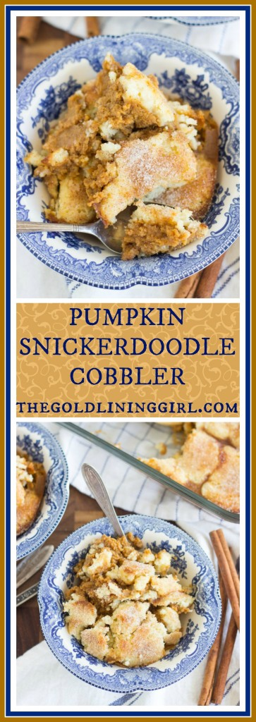 Snickerdoodle Pumpkin Cobbler pin