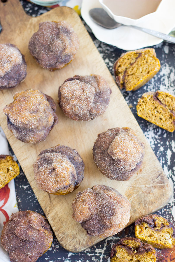 Snickerdoodle Pumpkin Nutella Muffins (13)