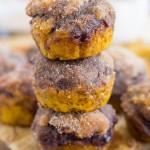 Snickerdoodle Pumpkin Nutella Muffins