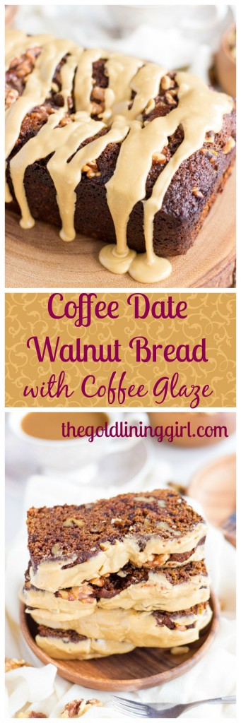 coffee date walnut bread with coffee glaze pin