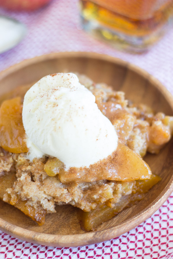 Simply awesome fireball apple crisp the gold lining girl fireball apple crisp 4 forumfinder Image collections