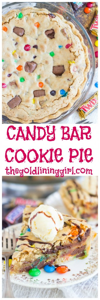 Candy Bar Cookie Pie pin