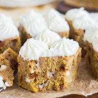 The Best Pumpkin Blondies with Cream Cheese Frosting
