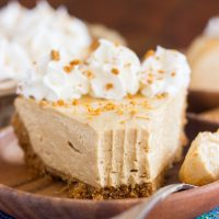 Cookie Butter Cheesecake with Biscoff Crust