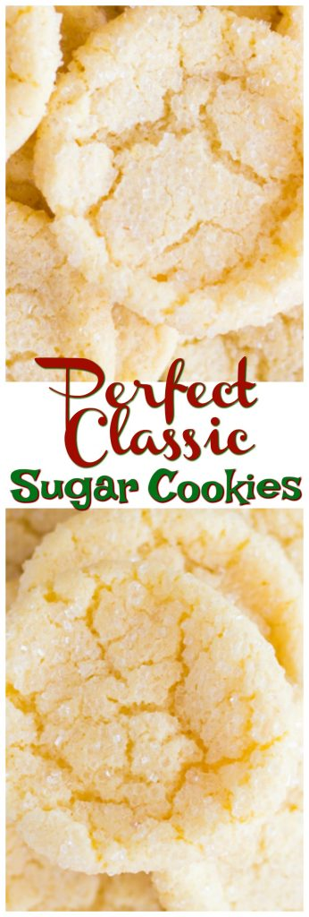 Perfect Classic Sugar Cookies The Gold Lining Girl