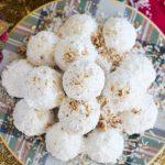 Coconut Pecan Snowballs