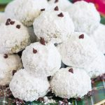 Mint Chocolate Chip Snowballs