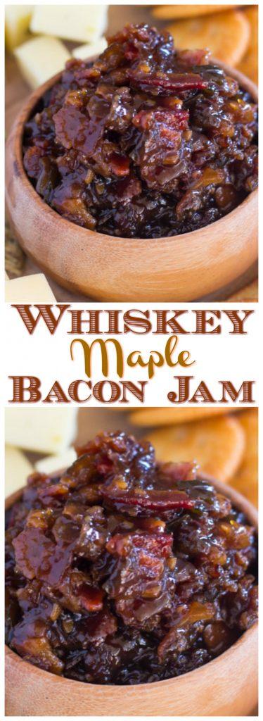 Whiskey Maple Bacon Jam pin