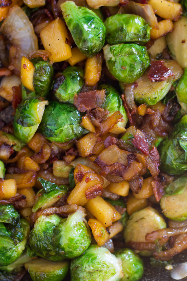 Bacon Apple & Caramelized Onion Brussels Sprouts (3)