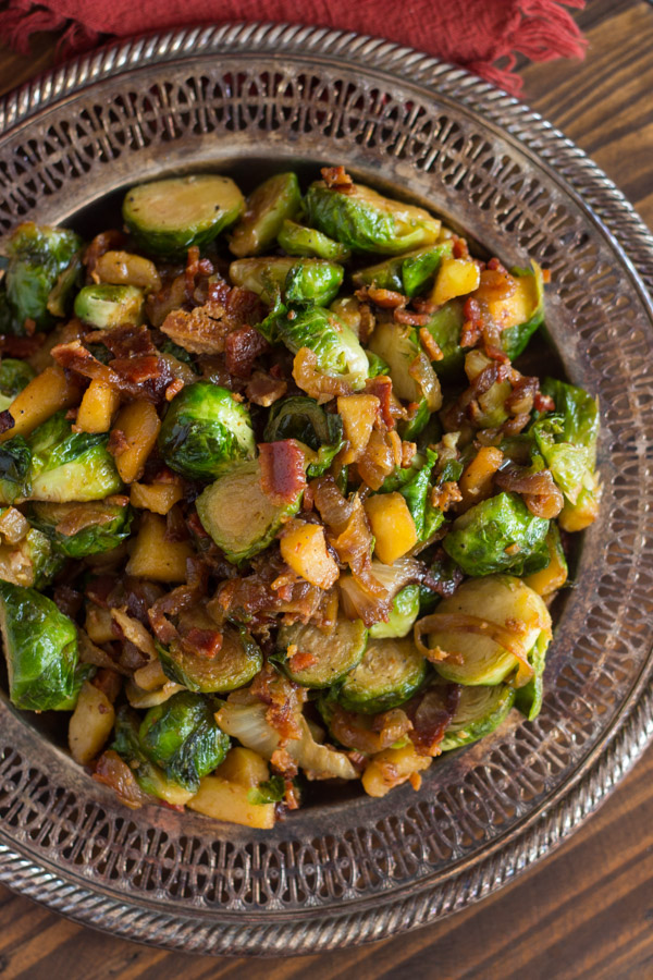 Bacon Apple & Caramelized Onion Brussels Sprouts (9)