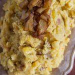 Caramelized Onion Garlic & Goat Cheese Mashed Potatoes (19)
