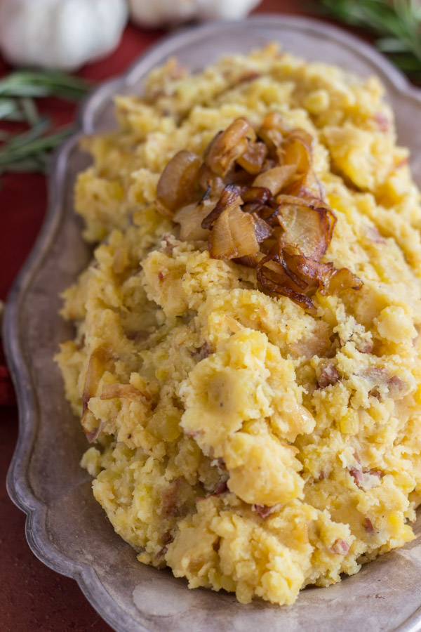 Caramelized Onion Garlic & Goat Cheese Mashed Potatoes (7)