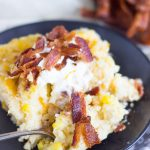 Cheesy Grits Casserole with Bacon and Corn (15)