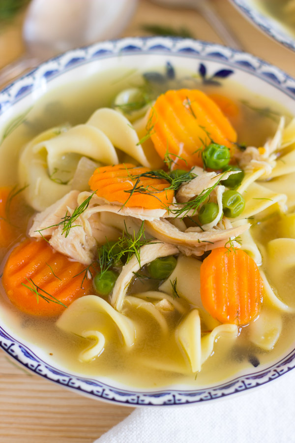 Lemon Dill Chicken Noodle Soup (13)