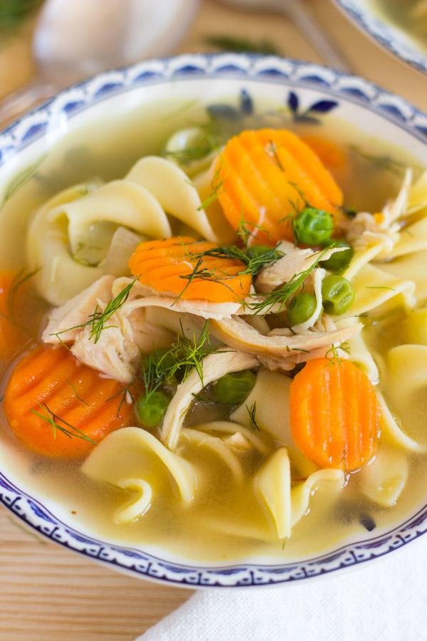 Lemon Dill Chicken Noodle Soup (13)