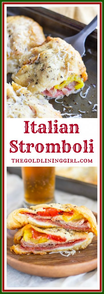 Super Bowl Italian Stromboli pin