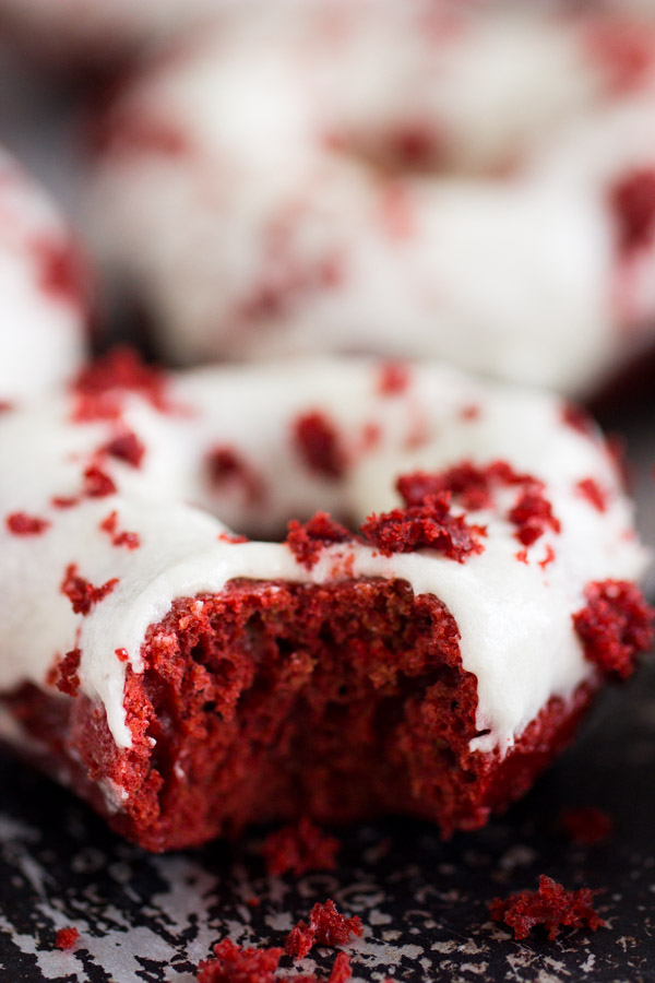 Baked Red Velvet Donut Recipe (12)