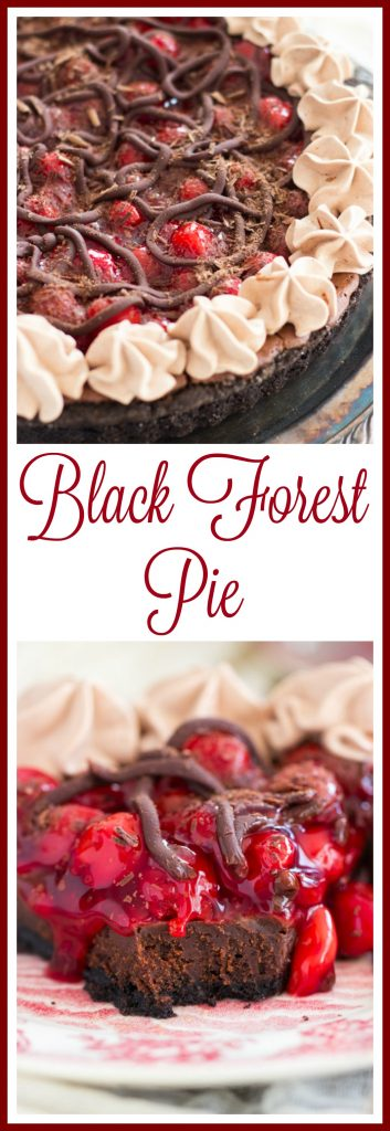 Black Forest Pie pin