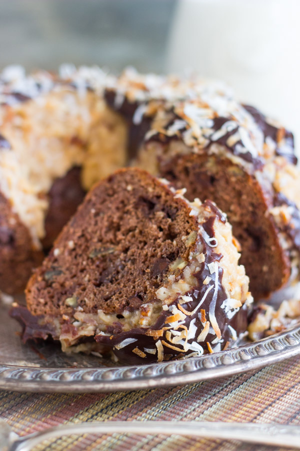 German Chocolate Pound Cake From Cake Mix