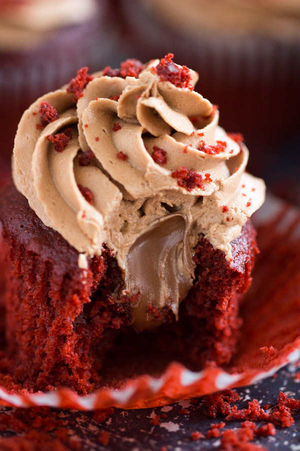 Nutella-Filled Red Velvet Cupcakes with Nutella Buttercream 17 (5)