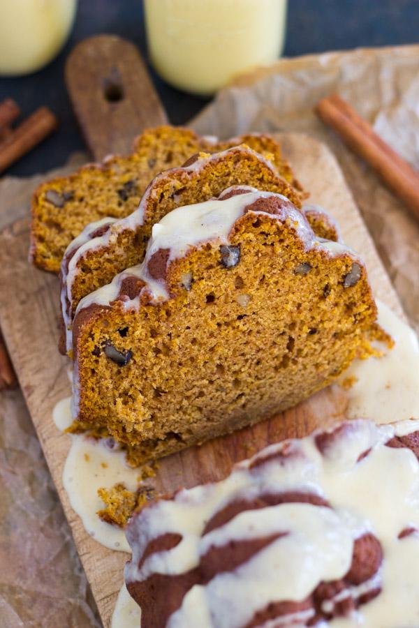 Pumpkin Eggnog Bread (12)